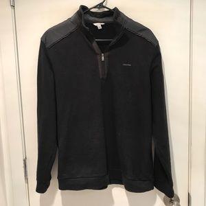 Calvin Klein Black Quarter Zip